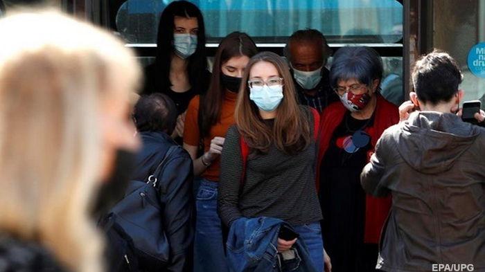В Украине зафиксировали резкий спад коронавируса