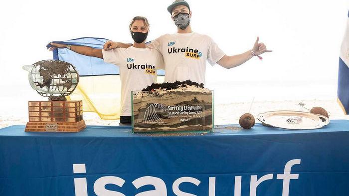 Сборная Украины впервые в истории выступила на чемпионате мира по серфингу