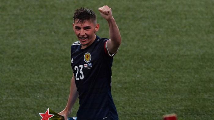 Гилмор — лучший игрок матча Англия - Шотландия