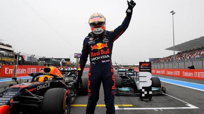Ферстаппен выиграл квалификацию на Гран-при Франции