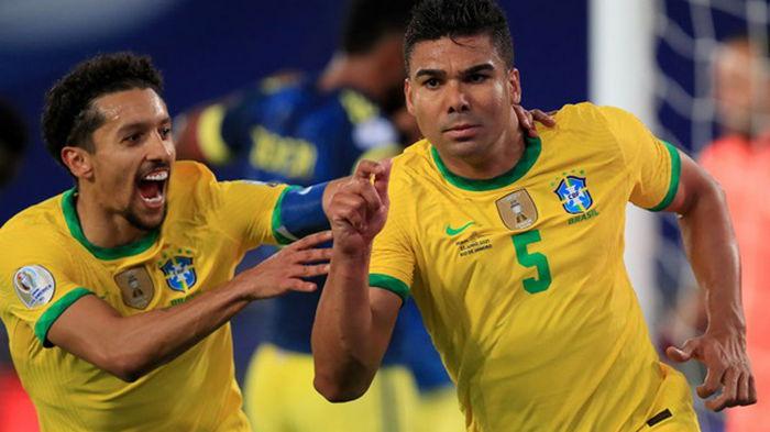 Сборная Перу ушла от поражения с Эквадором, Бразилия вырвала победу у Колумбии