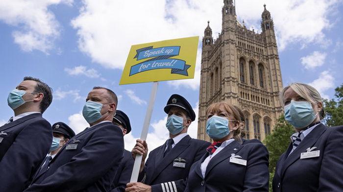 В Британию пришел новый штамм коронавируса