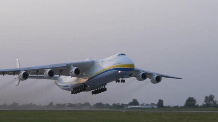 Гигант Ан-225 Мрия возобновил полеты