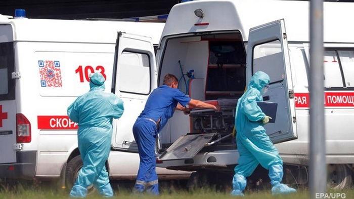 В РФ новый антирекорд смертности от COVID-19