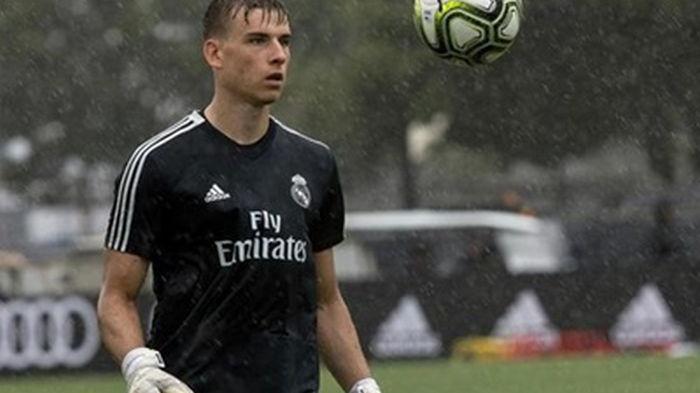 Лунин будет первым номером Реала в начале сбора