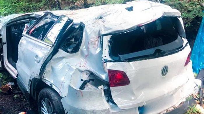В Яремче авто упало с обрыва: четверо погибших