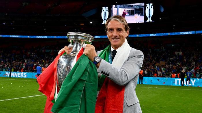 Манчини: Мы доминировали, счастливы, что победили, хорошо играя