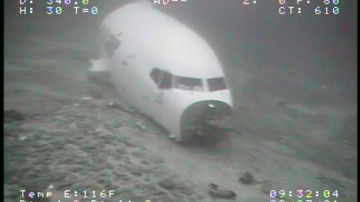 На дне Тихого океана нашли Boeing 737 после аварийной посадки (фото)