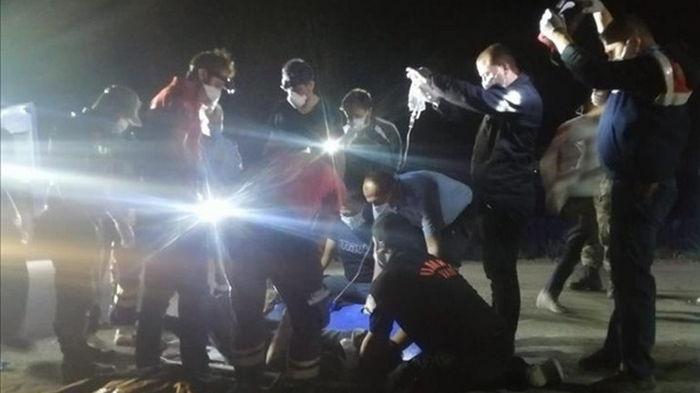 В Турции разбился микроавтобус с нелегалами, 12 жертв