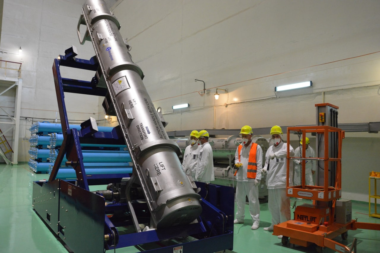 На Ровенскую АЭС привезли кассеты с американским ядерным топливом