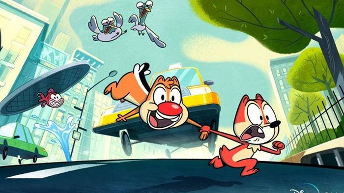Disney+ перерисовал героев мультика Чип и Дейл