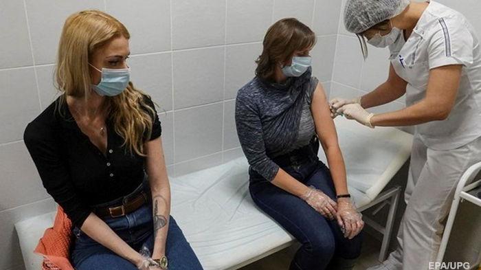 В Украине за сутки более 80 тысяч COVID-вакцинаций