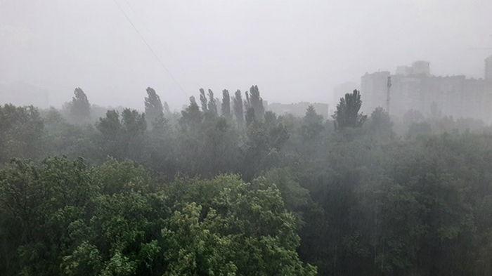 Погода на выходные: жара, местами дожди