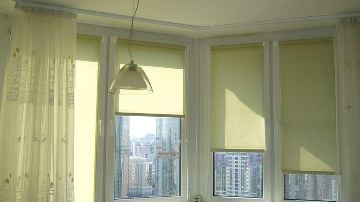 Рулонные шторы: защита от солнца и украшение интерьера
