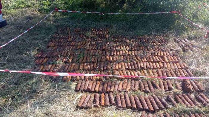 В Николаевской области нашли 502 снаряда времен прошлых войн