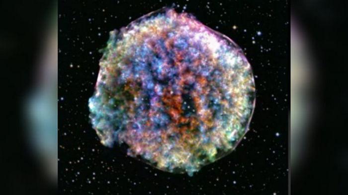 Впервые зафиксирован момент взрыва сверхновой звезды