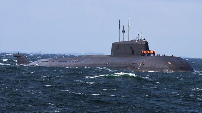 Атомная субмарина РФ потеряла ход у берегов Дании
