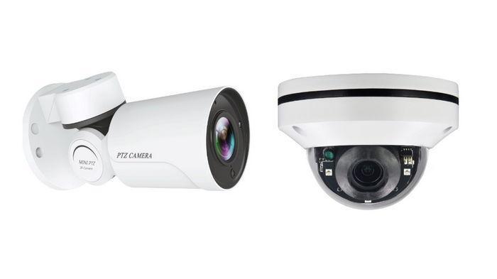 В чем разница между купольными и цилиндрическими камерами?