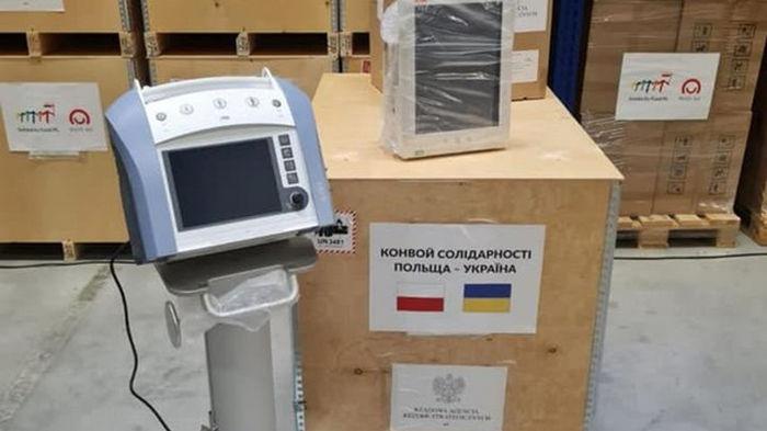 Украина получила от Польши 650 тысяч доз вакцины AstraZeneca