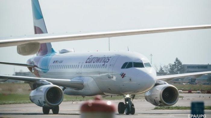 Немецкий лоукостер Eurowings начнет летать в Украину