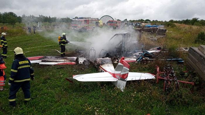 В Словакии разбился самолет: трое погибших