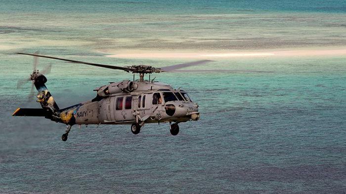 При крушении вертолета ВМС США погибли пять военных
