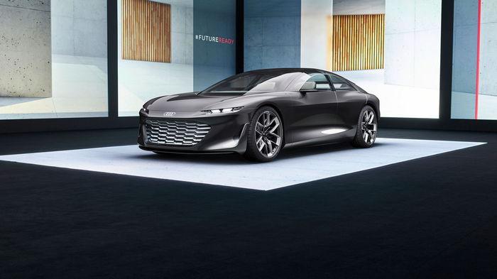 Audi представила концепт электромобиля, который может ездить без руля (видео)