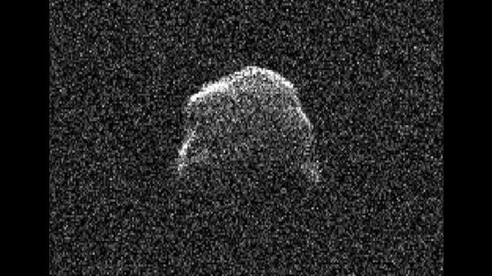 Астрономы получили изображение 1001-го околоземного астероида