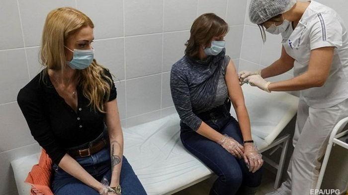 За сутки вакцинировано более 130 тысяч украинцев