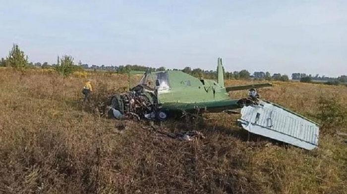 На Житомирщине разбился самолет