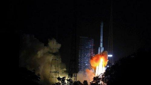 Китай запустил спутник Zhongxing-9B (видео)
