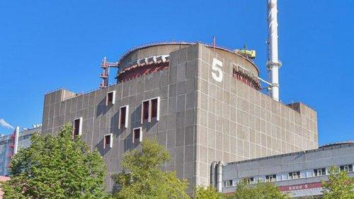 На Запорожской АЭС снова отключали пятый энергоблок