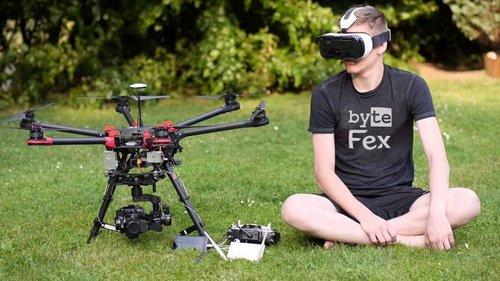 VR очки для управления квадрокоптером: новые впечатления от пилотирова...
