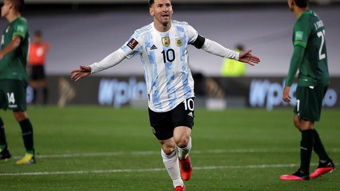 Месси поддержал сборную Аргентины по футзалу