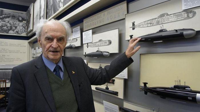 Умер конструктор первых атомных подлодок СССР