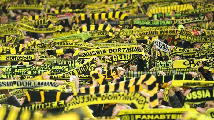 Фанаты Боруссии Дортмунд против реформы Лиги чемпионов