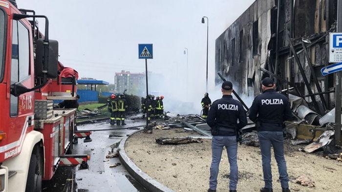 В Италии разбился самолет, есть погибшие