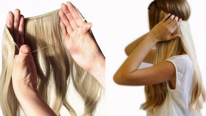 Где купить накладные волосы на резинке в Украине