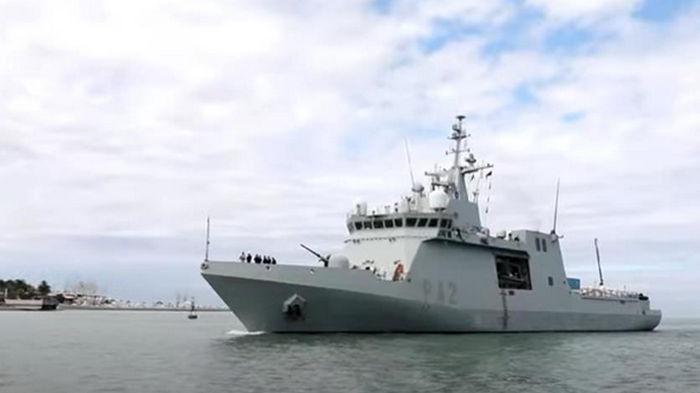 В воды Грузии вошли корабли НАТО (видео)