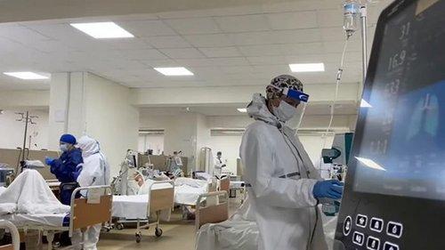 В больнице Львова рекорд по числу пациентов в COVID-реанимации (видео)
