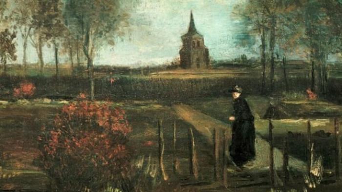В сети появились фотографии украденной картины Ван Гога